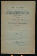 GESCHIED & OUDHEIDKUNDE TE GENT N° 1 TOT 6 - 1894 -   BLZ 1 TOT 265 - 23X15CM  6 SCANS - History