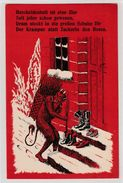 KRAMPUS - Postcard , Ansichtskarte - Saint-Nicholas Day