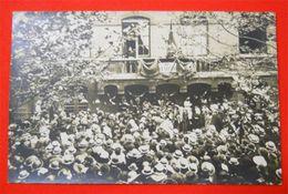 Mairie Et Manifestation Carte-photo TB Animée Cachet Dos Commune De Bouquinville Sur Mer Seine - Cartes Postales