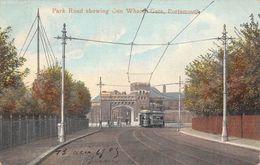 Angleterre - Hampshire - Portsmouth - Park Road Showing Gun Wharfe Gate - Route Du Parc Et Porte Gun Wharfe 1903 - Portsmouth