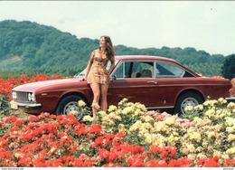Lancia Flavia 2000 Coupe     -   Carte Postale - Turismo