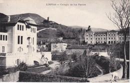 POSTAL DE LIMPIAS EL COLEGIO DE LOS PAULES (A. REY) - Cantabria (Santander)