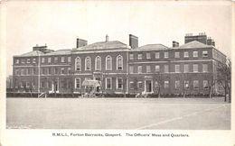 Angleterre - Hampshire - Forton Barracks - Gosport - The Officers' Mess And Quarters - Casernes De Forton - Autres