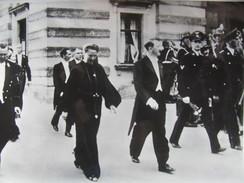 PRESSEFOTO  3.REICH 1938  180 X 130 DER FÜHRER ADOLF HITLER ZU DEN FESTSPIELEN IN BAYREUTH MIT FRAU WAGNER & GOEBBELS - Krieg, Militär