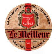 Dec17   14019 étiquettes    Camembert   Le Meilleur - Formaggio