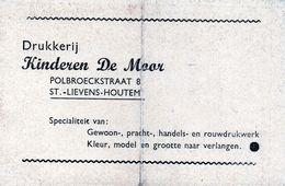 KALENDER CALENDRIER 1949 ST-LIEVENS-HOUTEM DRUKKERIJ DE MOOR - Calendriers