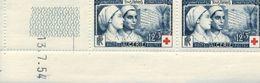 ALGERIE Croix Rouge ( Recto Verso )daté 13. 07 54 Petits Pointillés De Rouille Voir Scan - Algeria (1962-...)