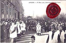 AMIENS -Enterrement De Jules VERNE Le 28 Mars 1905. - Amiens