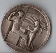 MEDAILLE  ARGENT AGENTS DE CHANGE DE PARIS ETS SERVAT ET AVGET 1572 - 1898 - Professionali / Di Società