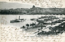 SWITZERLAND  - Geneve La Rade  - Undivided Rear Good Postmarks 1904 - GE Genève