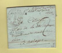 Marseille - 12 - Bouches Du Rhone - Le Commissaire Du Gouvernement Pres Le Tribunal De Premiere Instance - An 9 - 1701-1800: Précurseurs XVIII