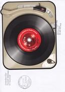 Brief Von Busswil Gemischter Chor Nach Melchnau Mi: BL.56  2014 Schallplatte - Suisse