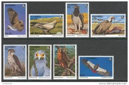 Gambia 1993. Michel #1555/62+Bl.#188/89 MNH/Luxe. Native Birds Of Prey. (B25) - Gambia (1965-...)