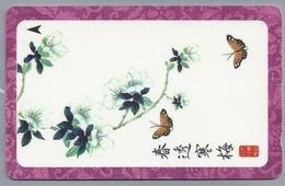 SG.- SINGAPORE TELECOM. $ 10. - Butterfly.- 126SIGB -. 2 Scans. - Bloemen