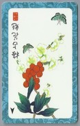 SG.- SINGAPORE TELECOM. $ 10. - Butterfly.- 126SIGA -. 2 Scans. - Bloemen
