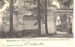 Hoegaarden CPA - Porte D'entrée Du Pensionnat Des Dames Du Sacré Coeur - Hoegaarden