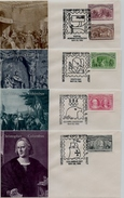 11 FDC Etats Unis Christophe Colomb, Columbus, Kolumbus, Colon 1992 Série Complète 16 Timbres + Bonus  Voir Les 3 Scans - Sin Clasificación