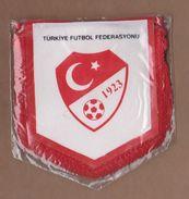 AC - FAIR PLAY TURKISH FOOTBALL FEDERATION PENNANT - Apparel, Souvenirs & Other