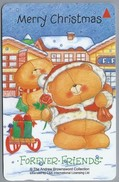 SG.- SINGAPORE TELECOM. $ 3. - Merry Christmas. The Andrew Brownsword Collection.- 123SIGA - 2 Scans. - Kerstmis