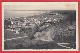 CPA-50- CAROLLES-PLAGE  - Ann.1930 * LES VILLAS * SUP * 2 SCANS - Andere Gemeenten