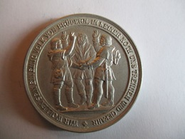 Suisse: Médaille Commémorative 600e Anniversaire De La Fondation De La Confédération 1891 - Jetons & Médailles