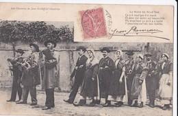 Carte 1904 LES CHANSONS DE JEAN RAMEAU ILLUSTREES / LA NOCE DE NOUT GAS (mariage) - Non Classés