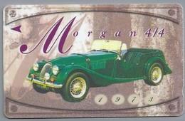 SG.- SINGAPORE TELECOM. $ 10. - Morgan 4/4 1973. - 122SIGA - 2 Scans. - Auto's