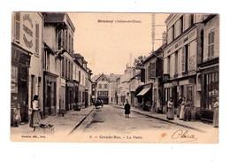 D127 - Brunoy ( S&O ) Grand Rue La Poste - N° 6 - Gaudrot édit. Ivry - - Brunoy