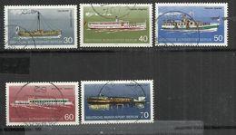 BERLIN 1975 - SHIPS - CPL.SET - USED OBLITERE GESTEMPELT USADO - Bateaux