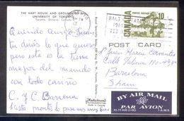 Canada. ON - Toronto. *The Hart House...* Circulada 1968. - Briefe U. Dokumente