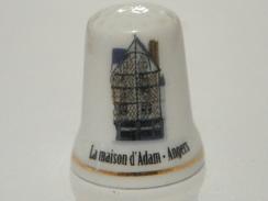 Dé En Porcelaine La Maison D'adam Angers - Thimbles