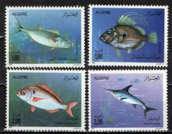 ALGERIA - 1989 - PESCI - FISHES - NUOVI MNH - Algeria (1962-...)