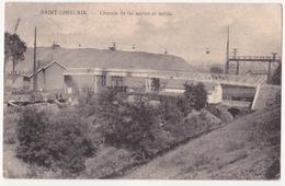 Saint-Ghislain: Chemin De Fer Aérien Et Terrils. (Erster Weltkrieg, 1916) - Saint-Ghislain