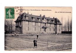 D002 - BRUNOY - S&O - Parc Des Bosserons , Maison De Retraite - édit. De L'hotel De La Pyramide - Brunoy