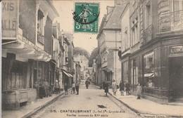 CHATEAUBRIANT  Grande Rue Et Vielles Maisons Du XVe - Châteaubriant