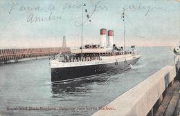 Angleterre - Sussex - Brighton - Royal Mail Boat - Entering Newhaven Harbour - Bateau De Poste - Brighton