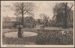 Morrab Park, Penzance, Cornwall, 1931 - Postcard - England