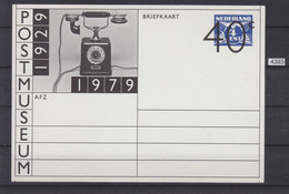 NEDERLAND 1979, STAMPED STATIONERY FROM 1979, WITH THE OVERPRINT 40 C, UNUSED, TELEPHONE , See Scans - Postal Stationery