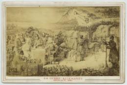 Cabinet Guerre De 1870-71 Par Neurdein . Camp De L'armée Allemande Survolé Par La République . - Photographs