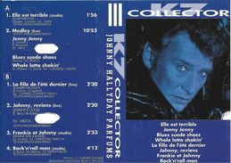 """Johnny Hallyday """"  Parfums / K7 Collector  """" - Cassettes Audio"""