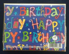 Happy Birthday, Playing Cards, Piatnik, Austria, New, Sealed, 2 Decks - Playing Cards (classic)