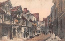 Angleterre - Wolverhampton - Old Lichfield Street - Rue Ancienne 1905 - Wolverhampton