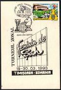 CHESS - ROMANIA TIMISOARA 1993 - WOMEN ZONAL TOURNAMENT - Scacchi