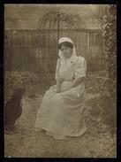 Photo 11 X 8 - Infirmière De La Croix Rouge à Lyon Hôpital Des Charmettes En 1909 --- Del280 - Lieux