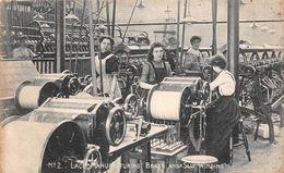 Angleterre - Nottingham - Lace Manufacturing - Brass And Slip Winding - Fabrication De Dentelle 1911 - Usine - Nottingham