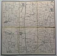 Lombardia _ Alto Mantovano _ Mappa Intelata _ CASALMORO _1:21.600_ Acquafredda, Remedello _ Timbro A Secco - Carte Topografiche