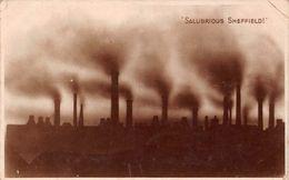 Angleterre - Salubrious Sheffield - Sheffield Salubre - Usine Factory - Sheffield