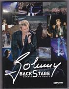JOHNNY HALLYDAY LIVE BACK STAGE - CARNET DE ROUTE 2003 - DVD - Concert En Muziek