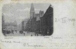Ecosse Scotland - Dundee - High Street - Grande Rue 1900 - Angus