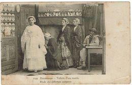 CPA - 29 - DOUARNENEZ - Toilette D'une Mariée -  Précurseur - Non écrite - - Douarnenez